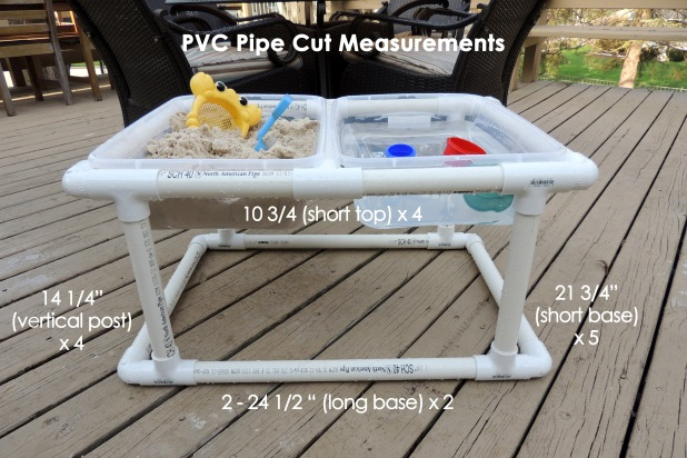PVC Pipe Cut Measurements