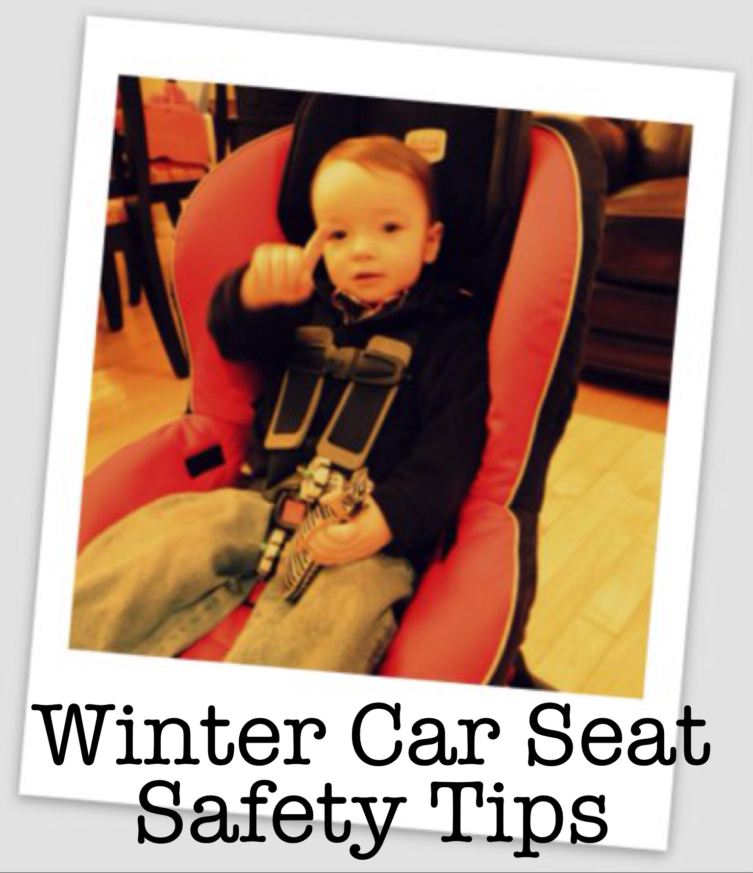 Car Seats And Winter Coat Safety Winter Car Seat Safety