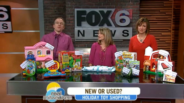 Click to view great info and how and why to buy gently used toys.