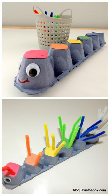 Counting Caterpillar @ blog.jaxinthebox.com