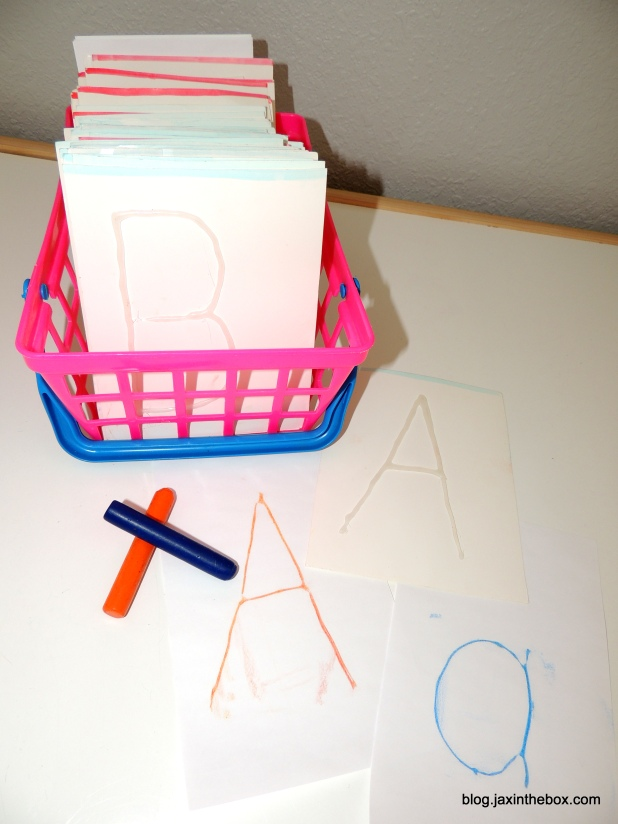 Tracing Cards for developing handwriting skills @ blog.jaxinthebox.com