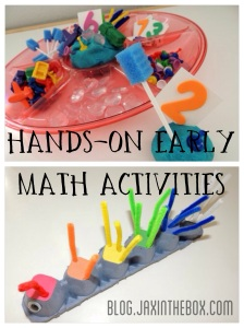 Hands-on preschool activities @ blog.jaxinthebox.com