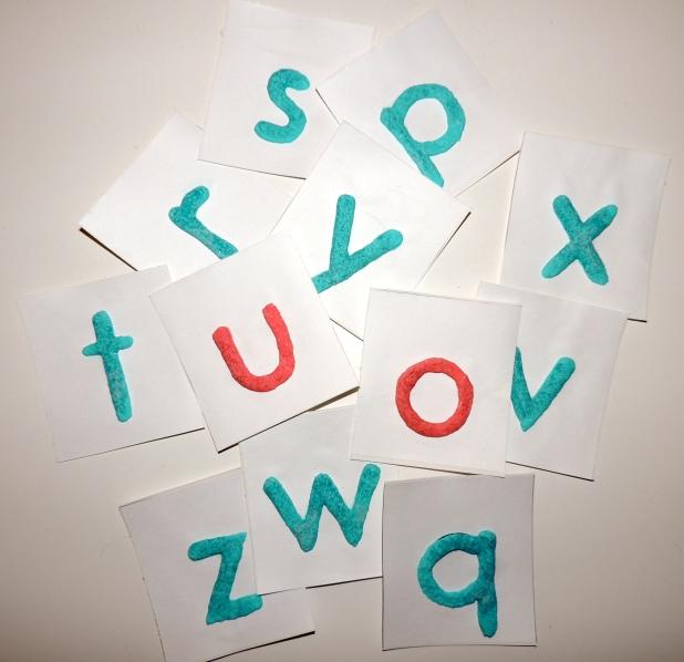 Puffy Paint Letter as pre-handwriting activities @ blog.jaxinthebox.com