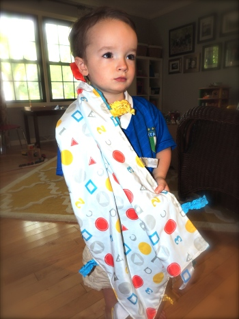 Review of Baby Jack Blankets @ jaxinthebox.com