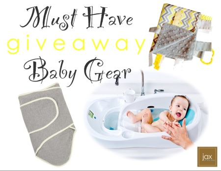 Must have baby gear giveaway @ jaxinthebox.com